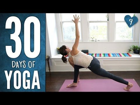 Day 9 - Full Potential Detox Practice - 30 Days of Yoga - YouTube  26 minutes, 100 calories, 6/1/15