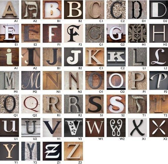 printable Paris letters