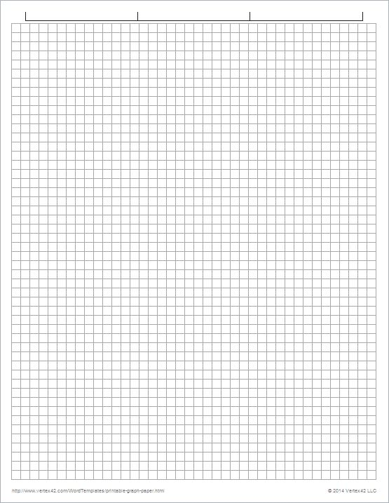 Download the Graph Paper Template - 1/5 Inch Grid from Vertex42.com