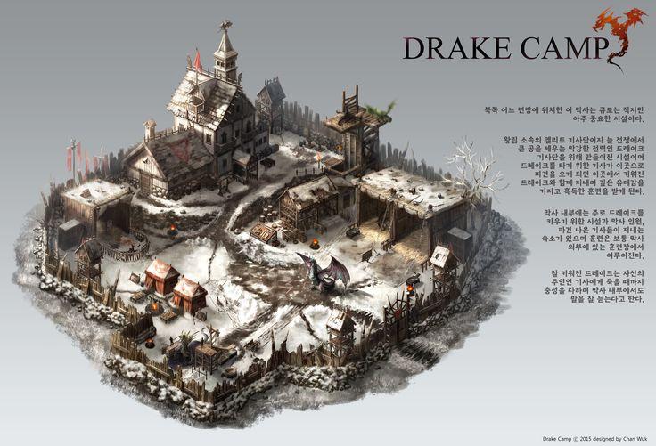 GGSCHOOL, Artist 정찬욱, Student Portfolio for game, 2D Scene Concept Art, www.ggschool.co.kr