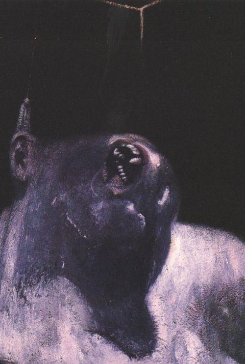 magrittee:  Francis Bacon francis bacon paintings  plastic arts, visual arts, fine arts, art, black