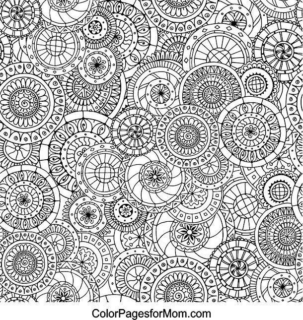 Doodles 2 Coloring Page