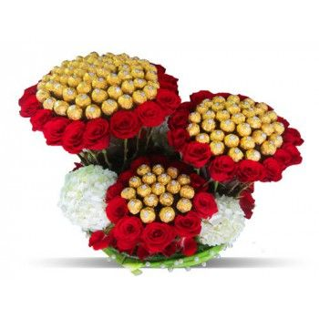 flores floristeria Johannesburgo -  Dulces sueños Ramos de  con entrega a domicilio