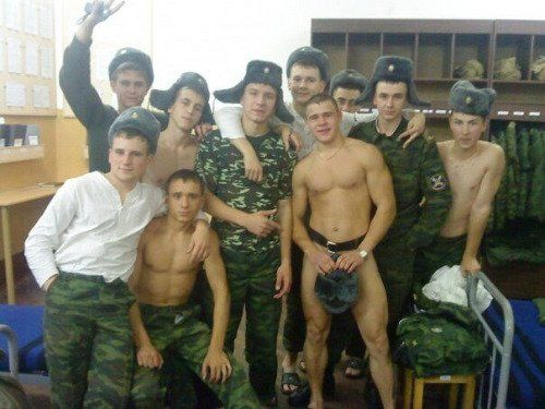 Russian young soldier gay sex first 7