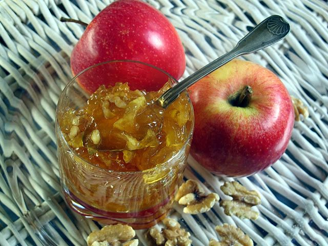 Tentazioni di gusto: Confettura di mele caramellate alle noci di Christ...