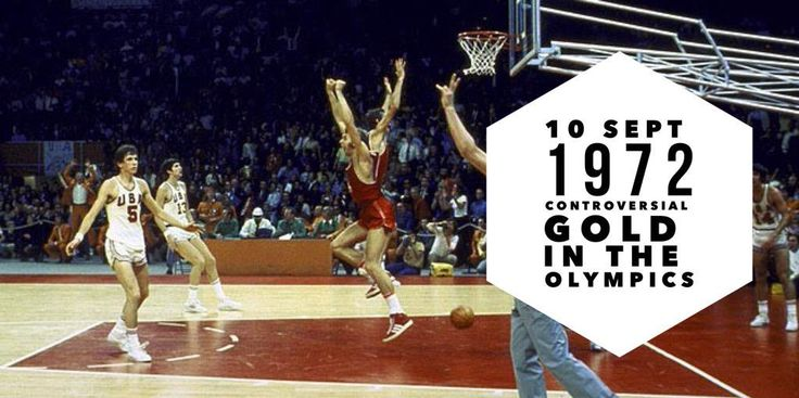 10 September 1972. Soviet Union won a gold medal at the controversial basketball final of the 1972 Summer Olympics in Munich
