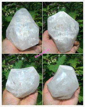 Kecubung Kuarsa Hias (Quartz Kristal)