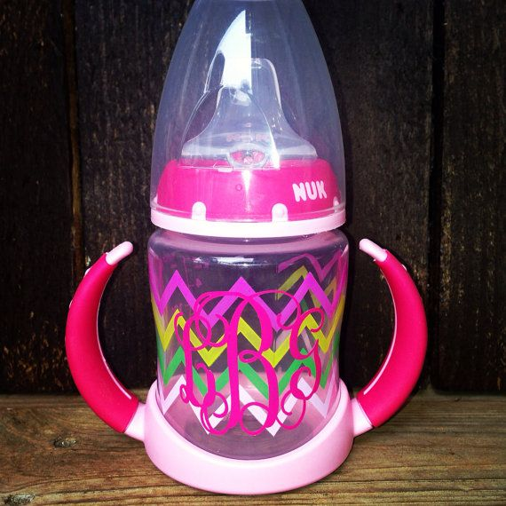 Personalized Nuk Sippy Cup on Etsy, $14.00