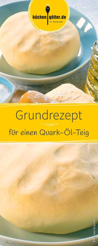 Wie zeigen euch die wichtigsten Basics für einen gelungenen Quark-Öl-Teig. Die Grundlage für süßen und pikanten Belag.