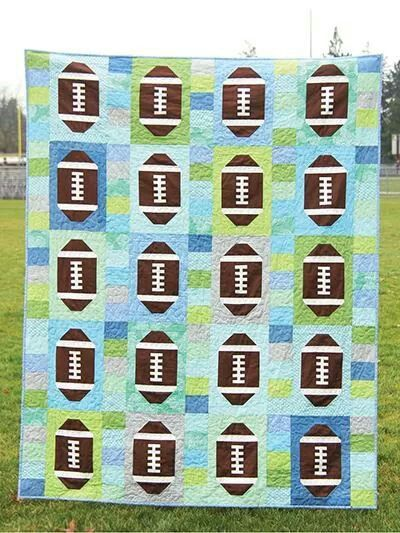 Sports Themed Quilt Patterns : 17 Best images about Sports theme quilt on Pinterest Football, Quilt and 24 blocks