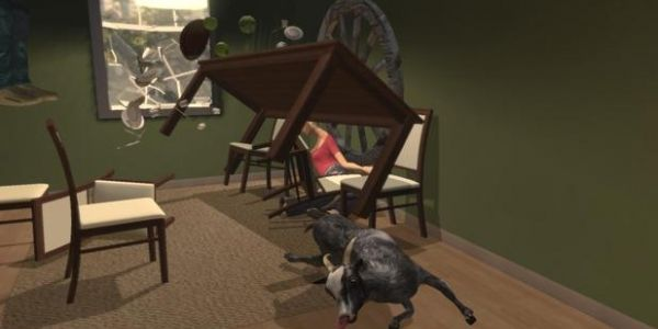 Goat Simulator now available for barnyard mischief on Steam -  Leave it to Coffee Stain Studios to deliver totally serious news on April Fool's Day: The indie developer launches Goat Simulator on Steam today. For $9.99, PC players can raise