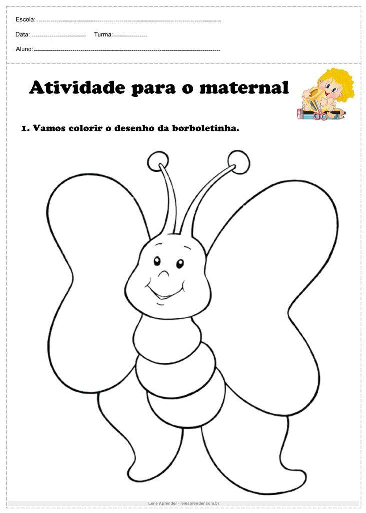 20 Atividades Para O Maternal Em 2020 Atividades Para Maternal
