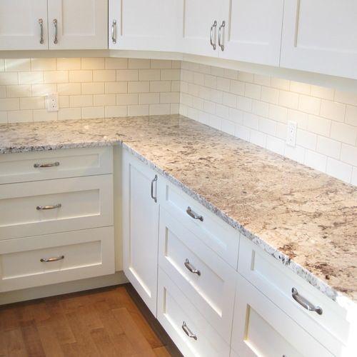 Alaska White Granite Home Design Ideas, Pictures, Remodel and Decor