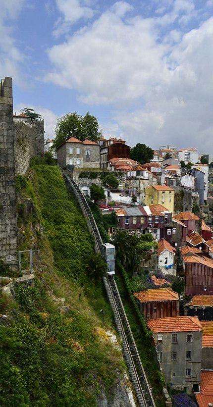 """Funicular"".. Porto, Portugal"