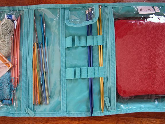 Knitting Materials : Thirty one gifts timeless beauty bag for knitting and