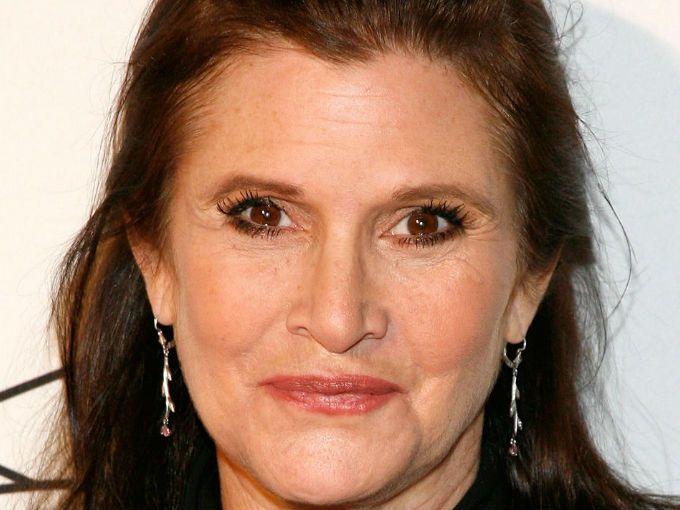 Muere Carrie Fisher, protagonista de Star Wars. Una lamentable pérdida para los fanáticos de la saga.
