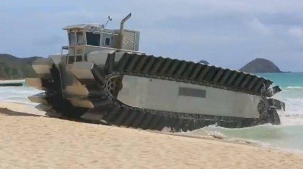UHAC Beach Assault Vehicle.  http://www.autorevue.at/motorblog/200-tonnen-demokratie-uhac-beach-assault-vehicle-2.html