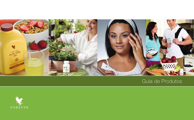 Guia de produtos Forever Living Brasil - atualizado em Março 2016.