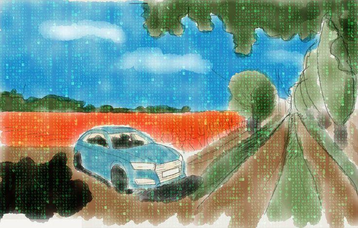 Follow the white rabbit: Rote oder blaue Pille? Der Audi A4 Avant und die deutsche Wert(e)arbeit