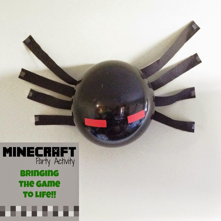 Twitchetts: MINECRAFT Party Activity ~ Bringing the Game to Life.  Unforgettable
