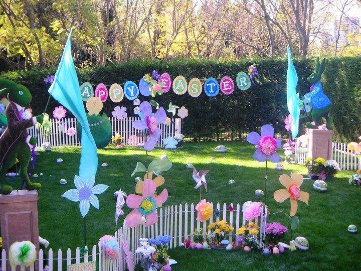 Easter Party Decoration Props Easter Pinterest Fun