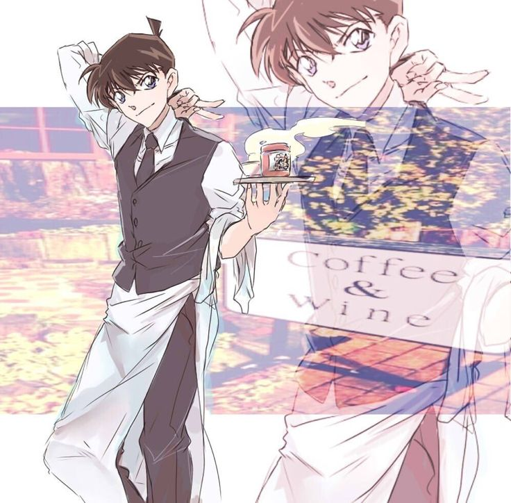wow he looks cool in apron...