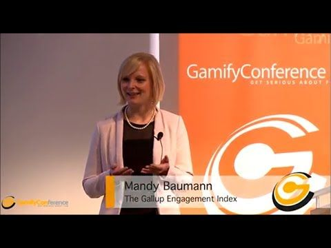 If you weren't able to attend the Gamify Conference, 2013, during the Medientage München, you can still enjoy the talks! :-) We will put them online one after another. Today with the inspiring talk from Mandy Baumann (Gallup) about the engagement-index. Let us know how you like it!  #gamification