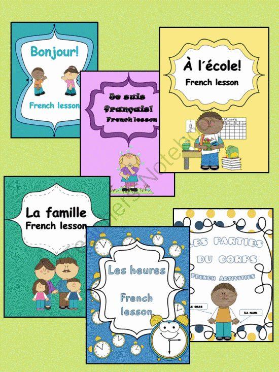 French Elementary (Bundled)- Bonjour, Je suis français, La classe, La famille... from Languages Corner on TeachersNotebook.com (113 pages)  - French Elementary (Bundled)- Bonjour, Je suis français, La classe, La famille...