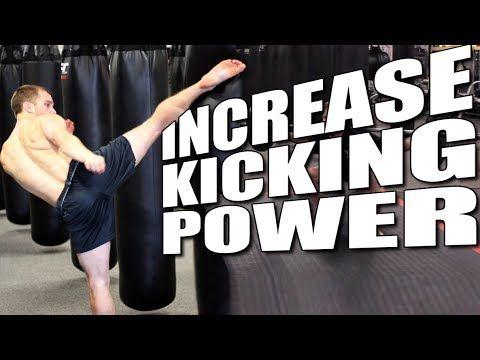 3 Exercises to Increase Kicking Power Shane Fazen | fighttips.com #martialfitness #workouts