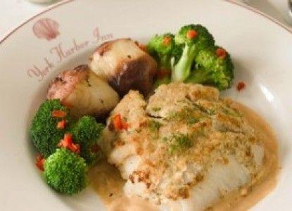 Recipe For Baked Stuffed Haddock | Bed and Breakfast Inns | BBOnline.com