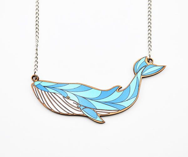 Beautiful #Whale #Necklace by Love Ikandi, a Queensland based business. All jewellery is designed and made in Australia.