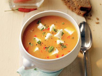 Metabolic Balance: Aprikosen-Möhren-Suppe   ELLE
