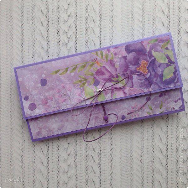 """По прежнему любимая бумага:) Galeria Papieru. """"Purple Rain-Фиолетовый дождь"""" фото 7"""