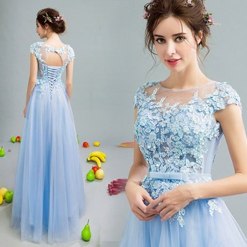 $79  Line Blue Evening Gown Maternity Evening Gown