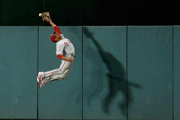 Ben Revere Pictures - Philadelphia Phillies v Washington Nationals ...