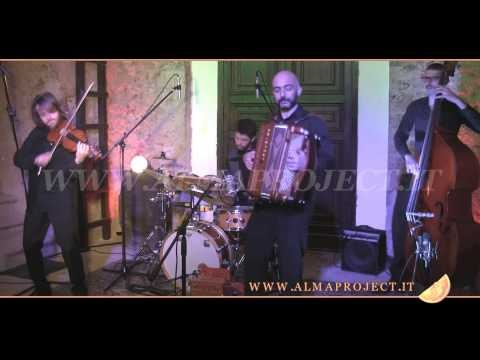 ALMA PROJECT Klezmer Band  AR - The basso (A Minor - Universal Gypsy Tunes)