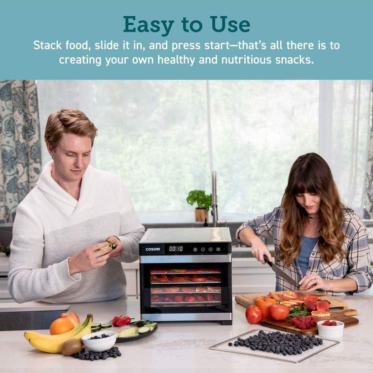 Cosori premium food dehydrator machine50 free recipes 6