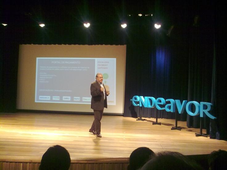 Palestra com Edson Rigonatti e Paulo Chacur sobre e-commerce #endeavor @etalk