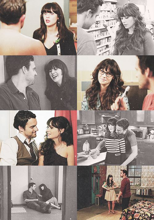 """I think you need me too much."" ""No, I'm going to be fine, I am. You know why? Cause I met you. That's why I'm okay."" Nick and Jess Season 1 :)"