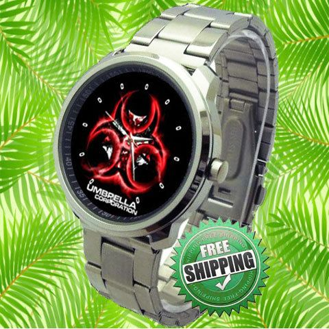 Umbrella Corp Logo Resident Evil Sport Watch by lakonmenang, $15.00