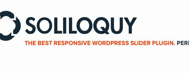 Soliloquy - Responsive Slider