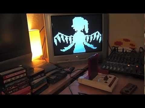 [Touhou] Bad Apple - 8Bit NES/Famicom Rendition via Powerpak - YouTube
