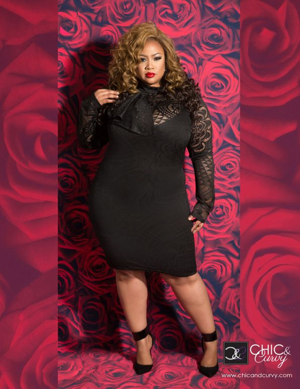 first look my curvy valentine lookbook by chic and curvy - Plus Size Valentine Dresses