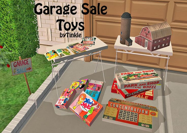 Sims2 Garage Sale Toys Downloads Bps Community
