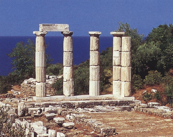 Sanctuary of the Gods, Samothrace. I spent a summer here working at the site, and would love to return!