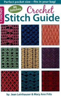 All the crochet stitches in one place and a good price to