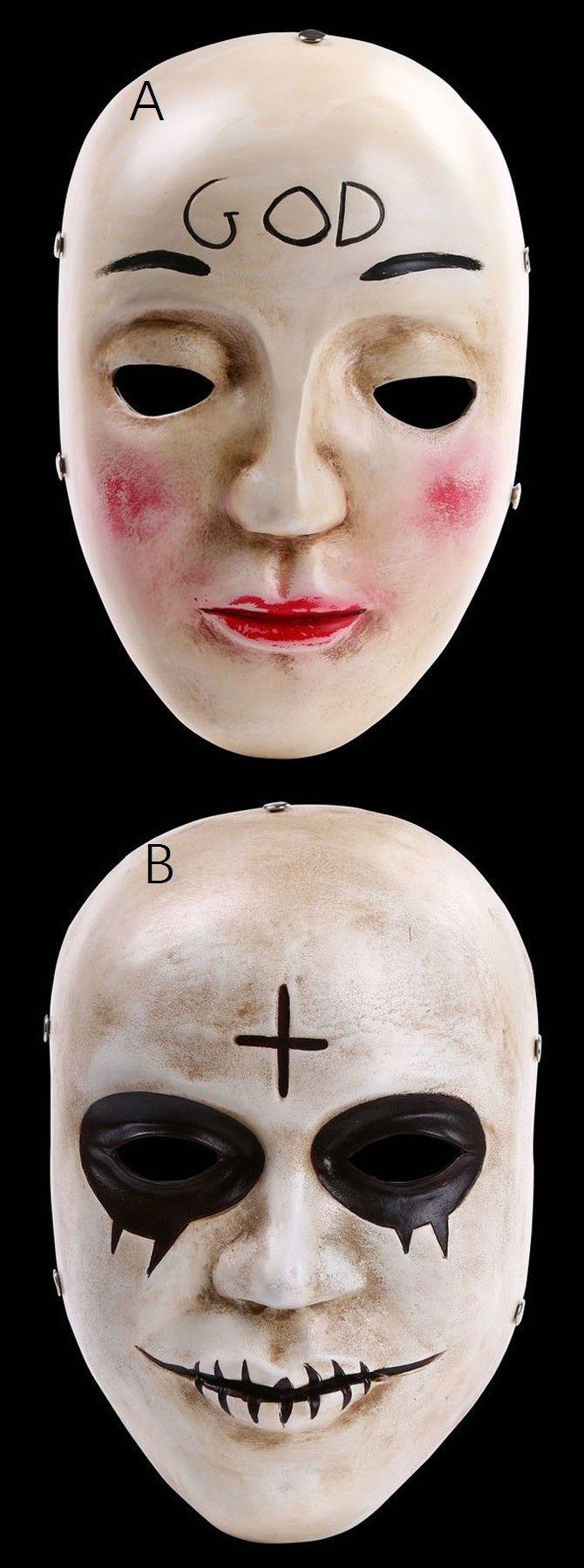 the purge mask, halloween mask, creep mask