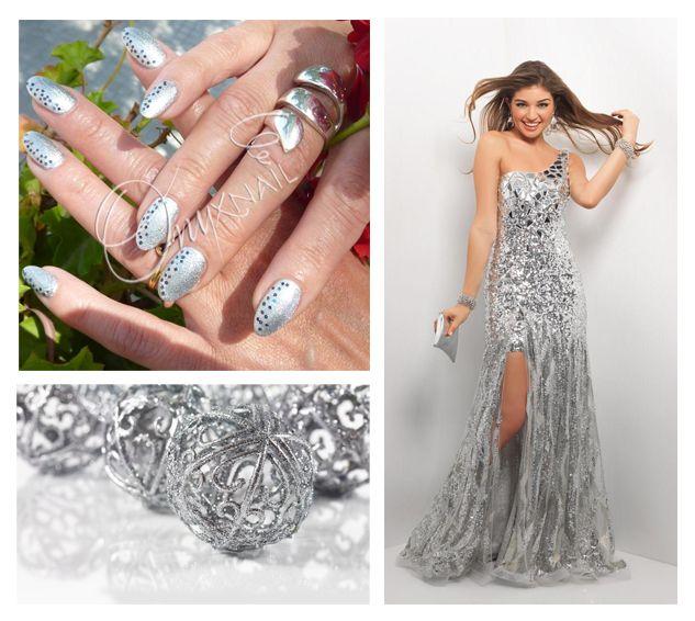 Argento Metallizzato VernisGel: Swatch Smalto Semipermanente #nailart #nails #manicure #beauty #unghie #smalti #silver