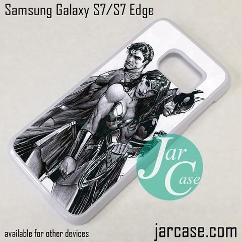 Superman_Wonder Women_Batman Phone Case for Samsung Galaxy S7 & S7 Edge
