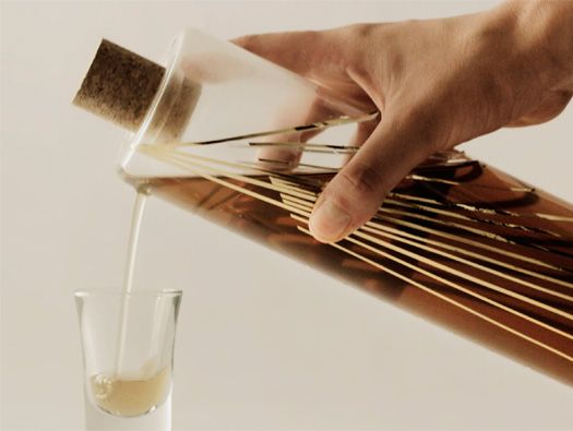 Gold Ratio Bottle by Agustina Bottoni. to measure while pouring, instead of after.